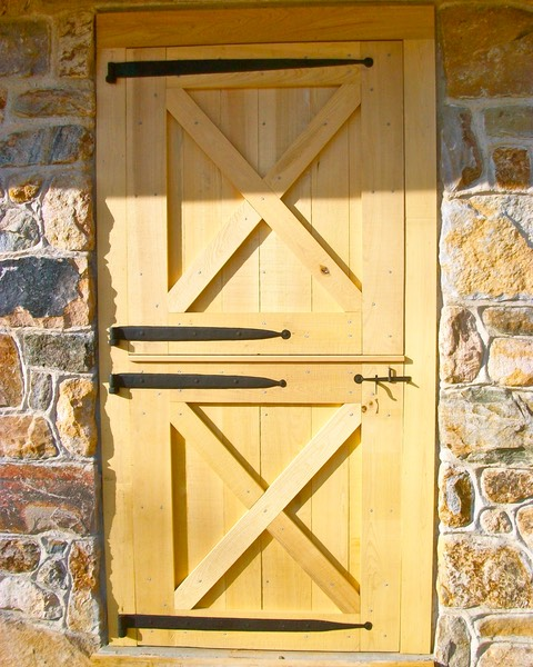 Barn doors and period hardware